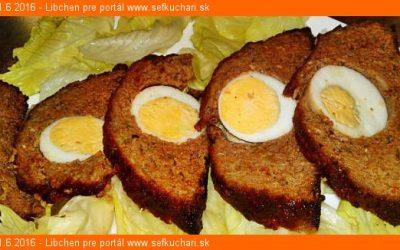Stephaniebraten – rakúska vcelku pečená pečienka z mletého mäsa plnená vajcami na tvrdo