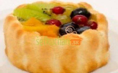 Bábovečky s ovocím