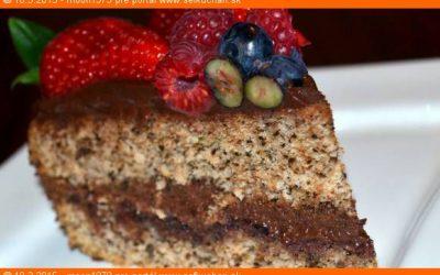 Čokoládovo – ovocné nebíčko v papuľke