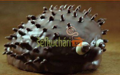Čokoládový ježko.