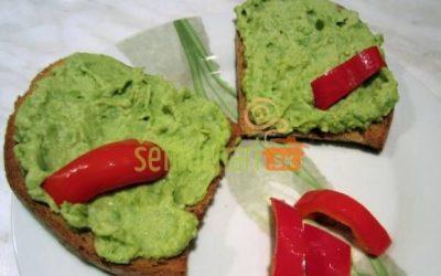 Diétna nátierka zo zeleného hrášku