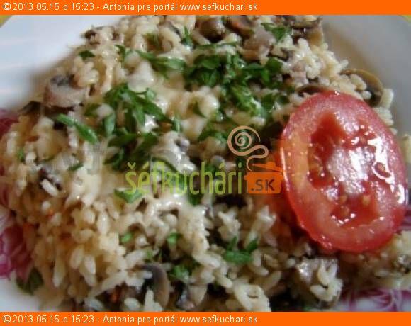 Hubové rizoto