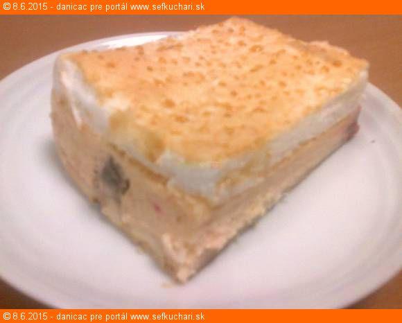 Ľahký rebarborovo-tvarohovo-jogurtový krémovník