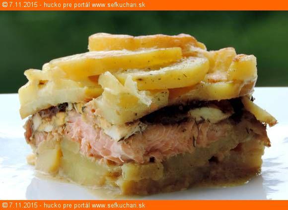 Losos na štýl francúzskych zemiakov