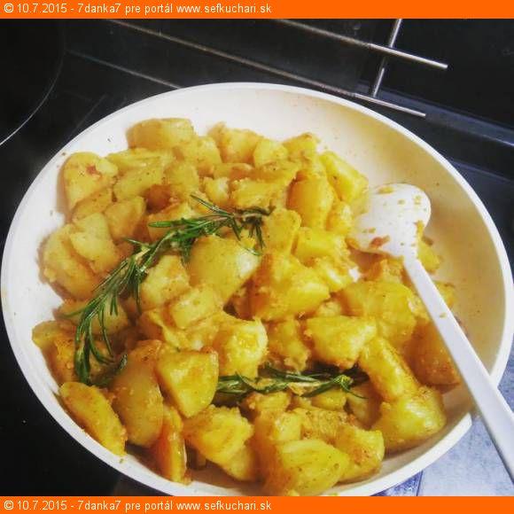 Opekane zemiacky s rozmarinom