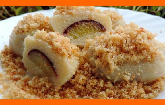 Slivkové gule s tradičným zemiakovým cestom