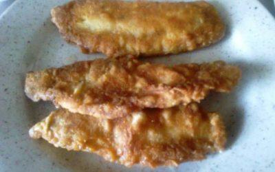 Vyprážané rybie filé