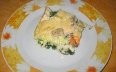 Zapekané rybie filé so špenátom
